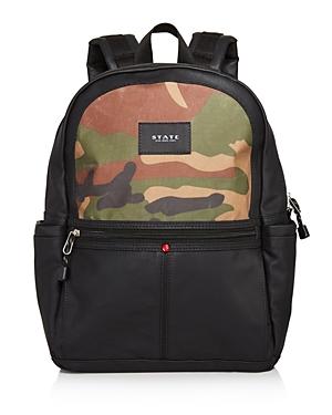 State Unisex Camouflage Print Kane Backpack