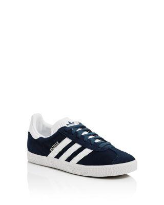 Unisex Gazelle Suede Lace Up Sneakers - Big Kid