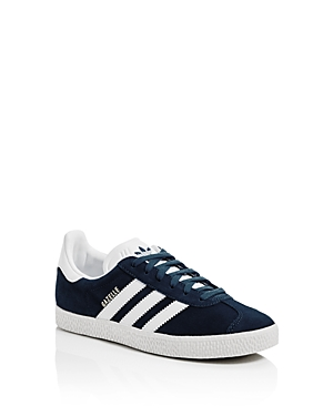 Adidas Unisex Gazelle Suede Lace Up Sneakers  Big Kid