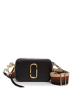 Marc Jacobs Snapshot Ombre Stripe Strap Color Block Leather Camera Bag