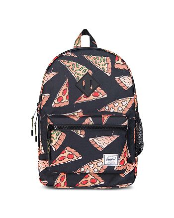 25304d29fbf Herschel Supply Co. Unisex Pizza Print Heritage Youth Backpack ...