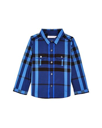 Burberry - Boys' Check Button-Down Shirt - Baby