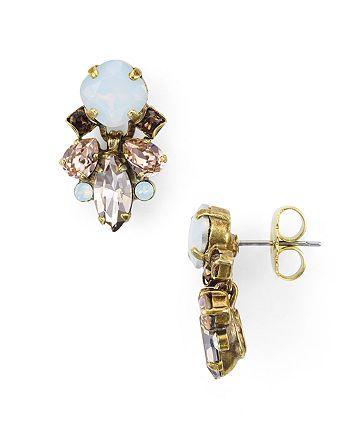Sorrelli - Peony Cluster Stud Earrings