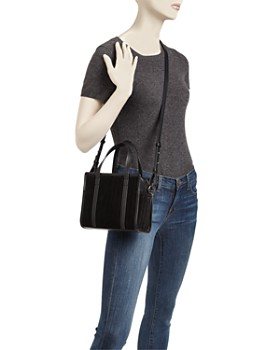 Steven Alan - Simone Small Suede and Leather Satchel
