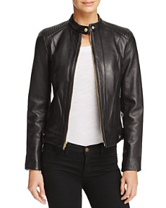 Cole Haan Leather Jacket Bloomingdale S