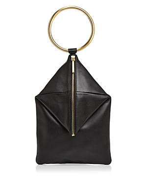 Flynn Blake Ring Leather Clutch