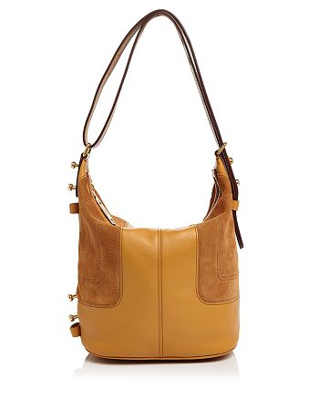 MARC JACOBS - The Sling Mod Suede and Leather Hobo
