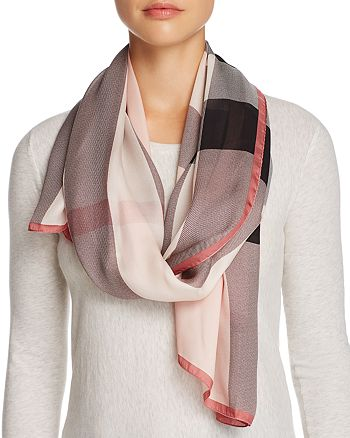 Burberry - Silk Scarf