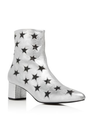 ARCHIVE MADISON METALLIC STAR CUTOUT BOOTIES