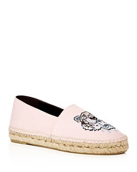 Kenzo - Women's Classic Tiger Embroidered Espadrille Flats