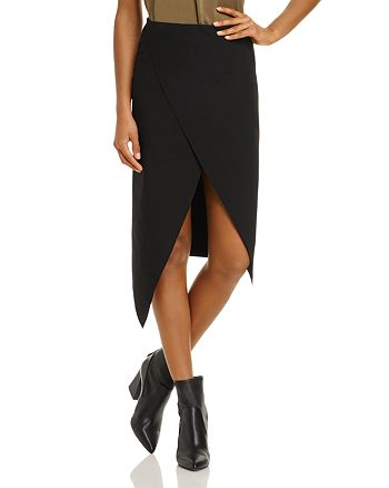 Finders Keepers - Chances Crossover Slit Skirt