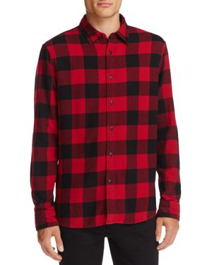 Jachs Ny Flannel Button-Down Slim Fit Shirt