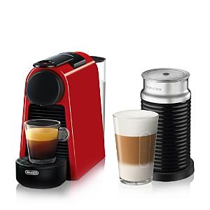 Nespresso Essenza Mini Espresso Machine Bundle by De'Longhi