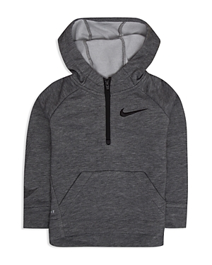 Nike Boys Drifit Fleece Quarter Zip Hoodie  Little Kid