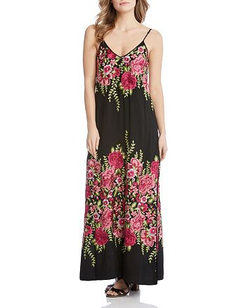 e76d2daff60 Karen Kane - Embroidered Maxi Dress