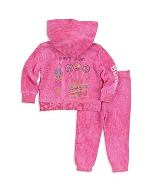 Butter Girls Super Sweet Embellished RainWash Hoodie  Sweatpants Set  Little Kid