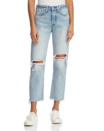 Levi's - Wedgie Straight Jeans in Lost Inside