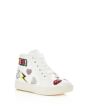 Steve Madden Girls' Jwacky Embellished High Top Sneakers - Little Kid, Big Kid