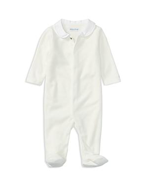 Ralph Lauren Childrenswear Unisex Velour Coverall - Baby