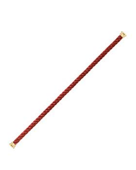 Fred - Force 10 Large Burgundy Cable Bracelet
