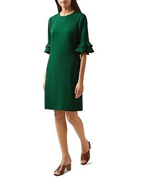 Hobbs London Frances Flare-Sleeve Dress