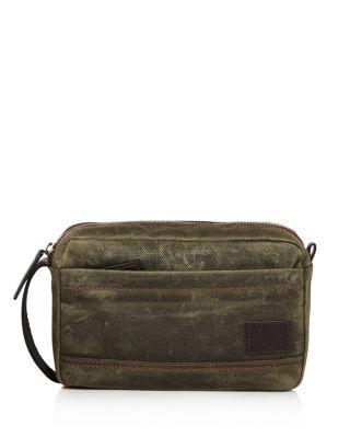 Carter Slim Toiletry Bag in Olive