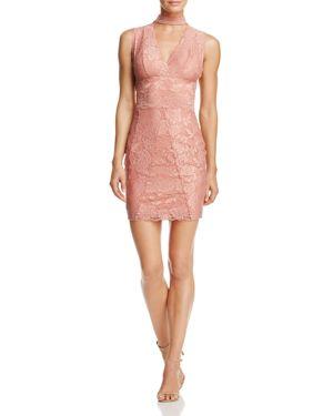 Guess Blanca Cutout Lace Dress