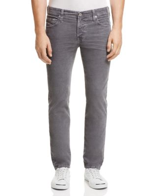 $AG Matchbox Corduroy Slim Straight Pants - Bloomingdale's