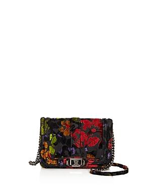 Rebecca Minkoff Love Floral Velvet Crossbody