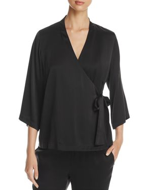 Eileen Fisher V-Neck Wrap Top - 100% Exclusive