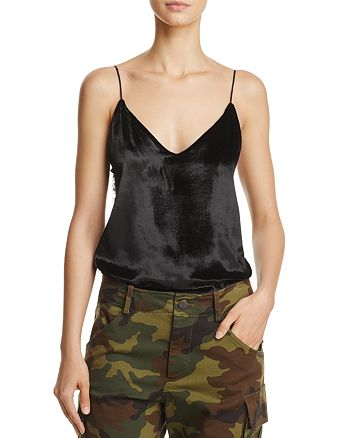 Alice and Olivia - Contessa Lace-Panel Camisole Top