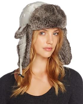 Crown Cap - Rabbit Fur Aviator Hat