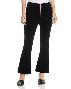Frame Velvet Flare Trousers