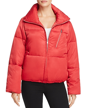Sage Collective Satin Puffer Jacket - 100% Exclusive
