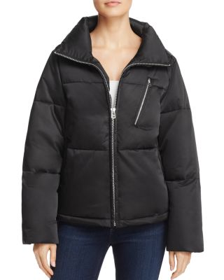 $SAGE Collective Satin Puffer Jacket - 100% Exclusive - Bloomingdale's