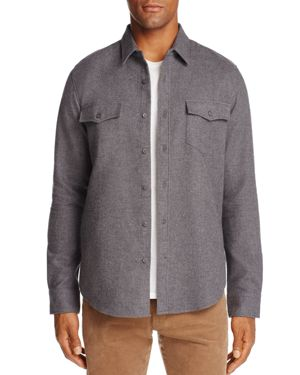 The Men's Store at Bloomingdale's Carlton Double-Faced Classic Fit Shirt Jacket - 100% Exclusive thumbnail