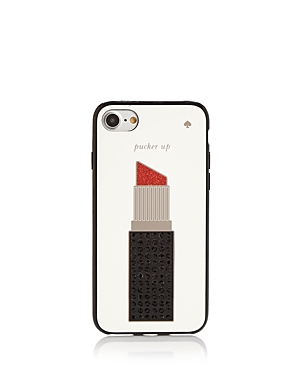kate spade new york Jeweled Lipstick iPhone 7/8 Case