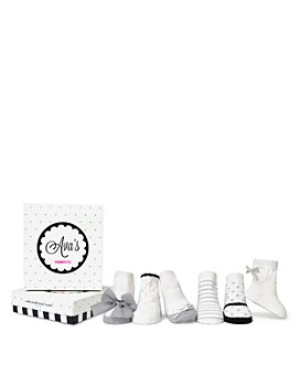 Trumpette - Girls' Ava Socks, 6 Pack - Baby