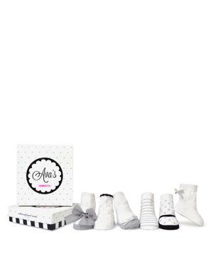 Trumpette Girls' Ava Socks, 6 Pack - Baby