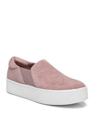 Warren Suede Platform Slip-On Sneakers