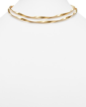 Marco Bicego - 18K Yellow Gold Marrakech Supreme Double Collar Necklace, 36""
