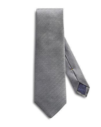 Eton - Herringbone Solid Classic Tie