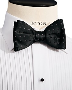 Eton - Polka Dot Self Tie Bow Tie