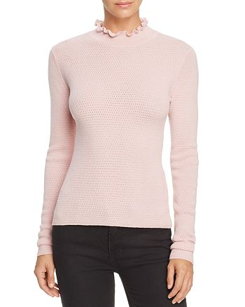 Rebecca Taylor - Ruffle Pointelle Sweater - 100% Exclusive