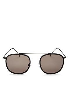 Illesteva - Women's Mykonos Ace Brow Bar Sunglasses, 52mm