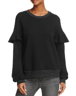 Nation Ltd Ruffle-Sleeve Sweatshirt - 100% Exclusive