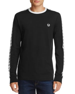 Fred Perry Long Sleeve Taped Ringer Tee