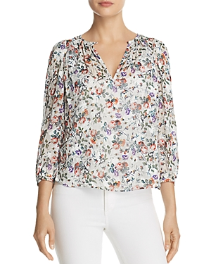 Rebecca Taylor Ruby Floral Top