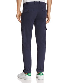 Michael Bastian - Garment Dyed Twill Regular Fit Cargo Pants