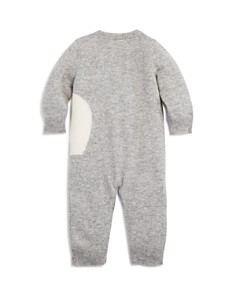 Bloomie's - Unisex Intarsia Elephant Cashmere Coverall, Baby - 100% Exclusive